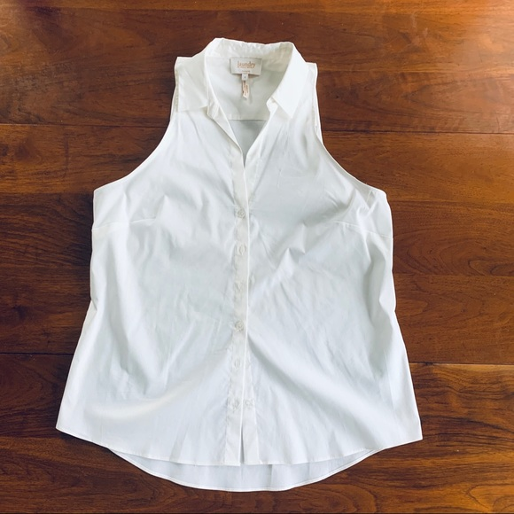Laundry By Shelli Segal Tops - NWT Laundry sleeveless button down white blouse